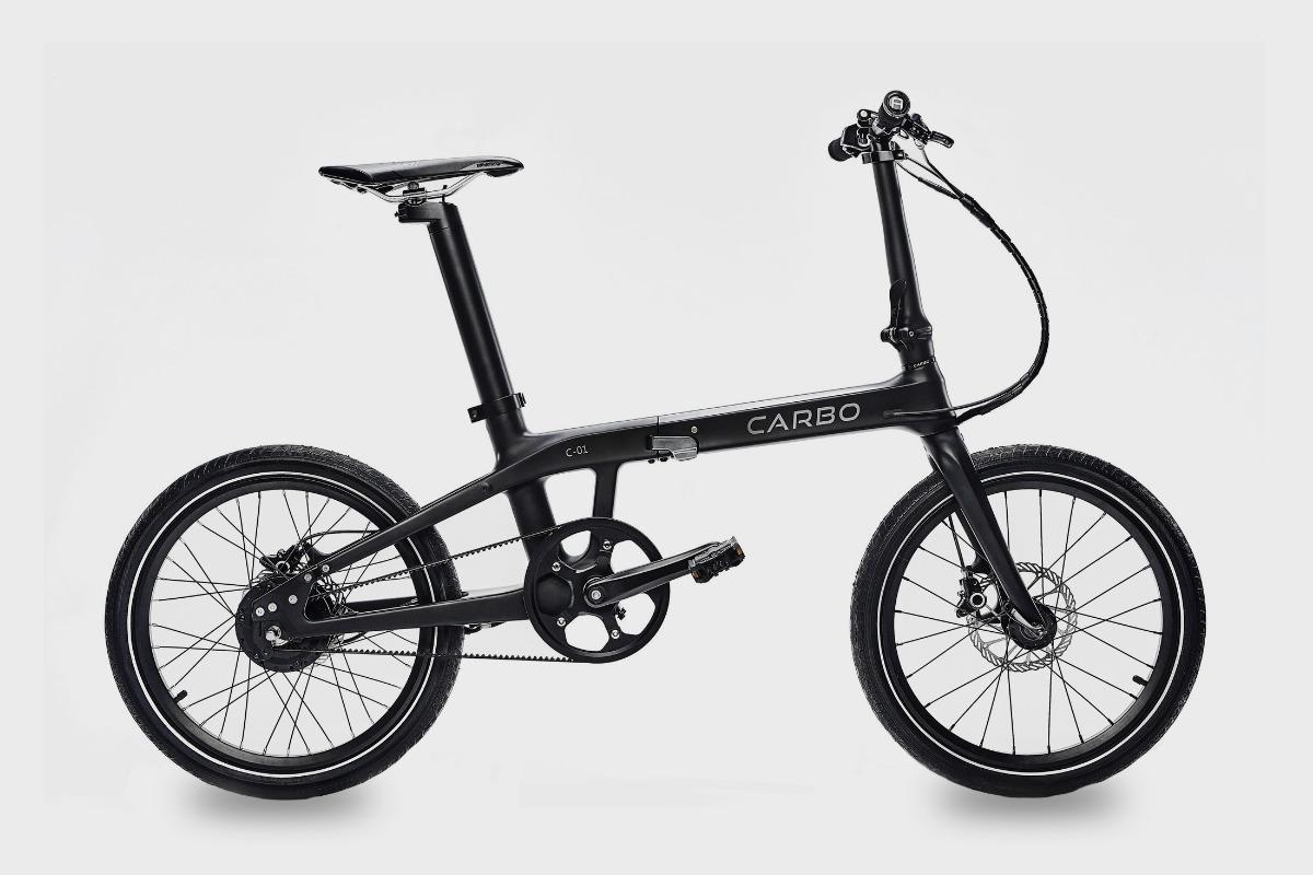 Carbo Folding Electric Bike