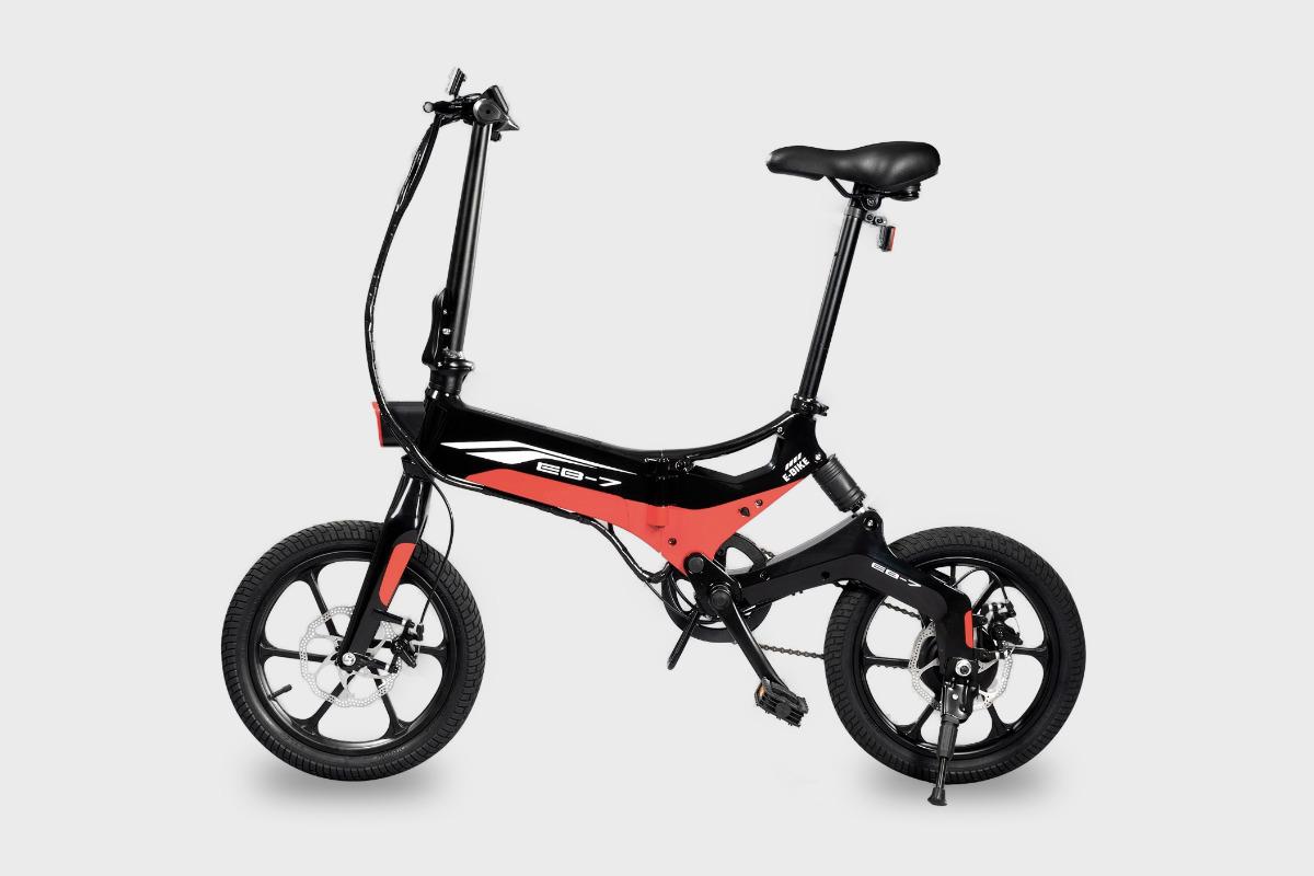 Swagtron EB7 Electric Folding Bike
